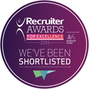 We've been shortlisted w Anderson